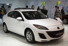 Auto Mazda 3 Lizenzfreies Stockbild