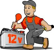 Auto mechanic. Royalty Free Stock Images
