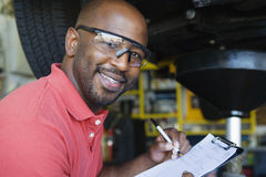 Auto Mechanic Stock Image