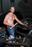 Auto mechanic Royalty Free Stock Photo