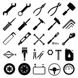 Auto Mechanic Tools set vector Stock Images