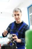 Auto mechanic workshop Royalty Free Stock Photo