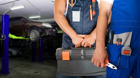 Auto mechanics Stock Image