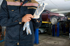 Auto mechanics Royalty Free Stock Photography