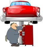 auto mechanik royalty ilustracja