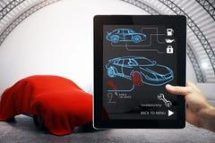 Auto mechanisch en toekomstig concept Royalty-vrije Stock Foto's