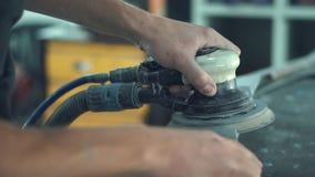 Auto mechanische schurende auto stock videobeelden