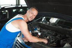 auto mekaniker royaltyfri fotografi