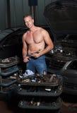 auto mekaniker royaltyfri foto