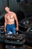 auto mekaniker royaltyfria bilder