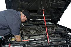 auto mekaniker arkivbild