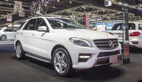 Auto Mercedes Benzs ml 250 BlueTEC Lizenzfreie Stockfotos