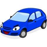 Auto met een gelukkig gezicht Royalty-vrije Stock Afbeelding