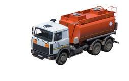 Auto met tank Stock Afbeelding