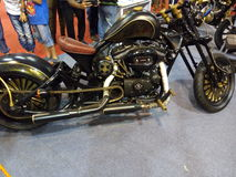 Auto mostra do carro e da bicicleta Imagens de Stock Royalty Free