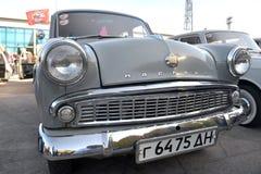 Auto mostra retro de Dnepr Foto de Stock