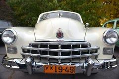 Auto mostra retro de Dnepr Imagens de Stock