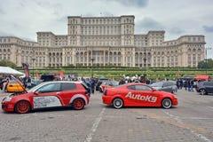Auto Moto Salon Romania Stock Photos
