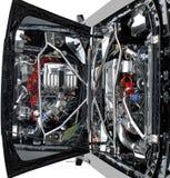 Auto-Motor Lizenzfreies Stockfoto