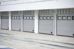Auto-motor speedway garage championship royalty free stock images