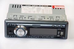 Auto mp3-Radiospieler Stockbild