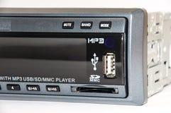 Auto mp3-Radiospieler Stockfotografie