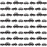 Auto naadloos patroon vector illustratie