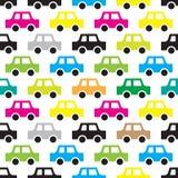 Auto naadloos patroon royalty-vrije illustratie