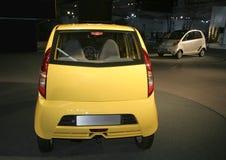 auto nano delhi expo Royaltyfri Fotografi