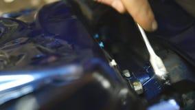 Auto naprawy pojęcie zbiory wideo