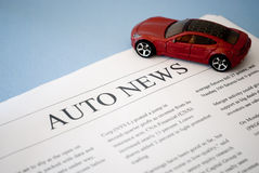 Auto news Stock Photography