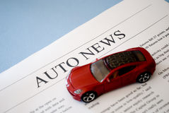 Auto news Royalty Free Stock Image