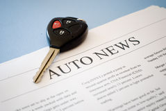 Auto news Stock Image