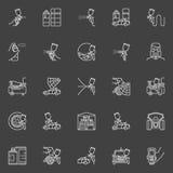 Auto obrazu konturu ikony ilustracji
