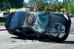Auto Ongeval stock afbeelding