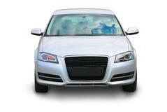 Auto op witte achtergrond royalty-vrije stock fotografie