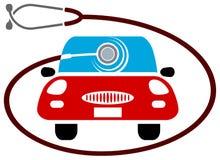auto opieka ilustracja wektor