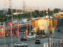Auto park Vitan from Bucharest, Autovit Stock Photo