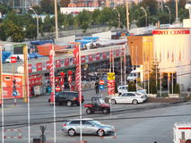 Auto park Vitan from Bucharest, Autovit Royalty Free Stock Images