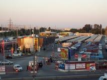 Auto park Vitan from Bucharest, Autovit Stock Photos