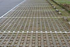 Auto-Parkplätze Lizenzfreies Stockbild