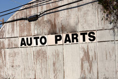 Auto parts Royalty Free Stock Photo