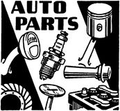 Auto Parts Royalty Free Stock Images