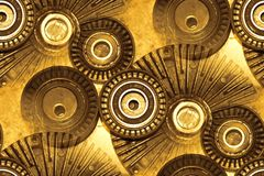 Auto parts abstract Stock Photos