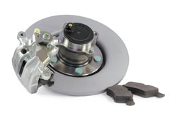 Auto parts. brakes Stock Images