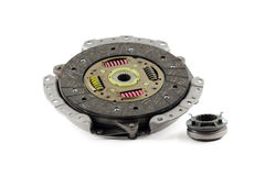 Auto parts clutch mechanism Stock Photos