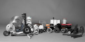 Auto parts stock photography
