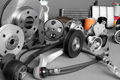 Auto parts Stock Images