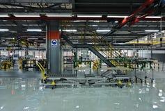 Auto parts plant royalty free stock photos