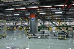 Auto parts plant Stock Photo